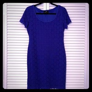 Lacey royal blue dress by Ronni Nicole
